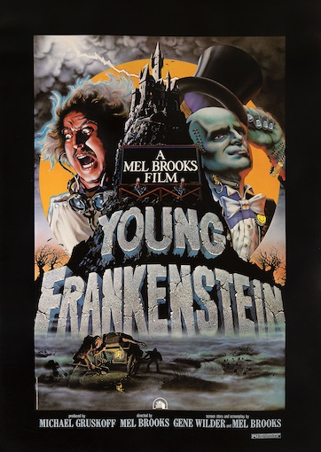 Young Frankenstein Original Vintage Movie Poster