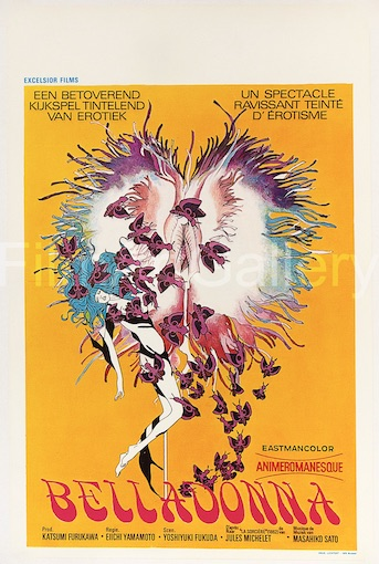 Belladonna Original Vintage Movie Poster