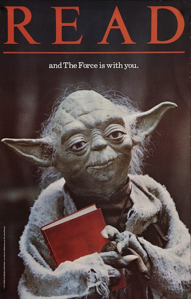 Yoda Original Vintage Movie Poster