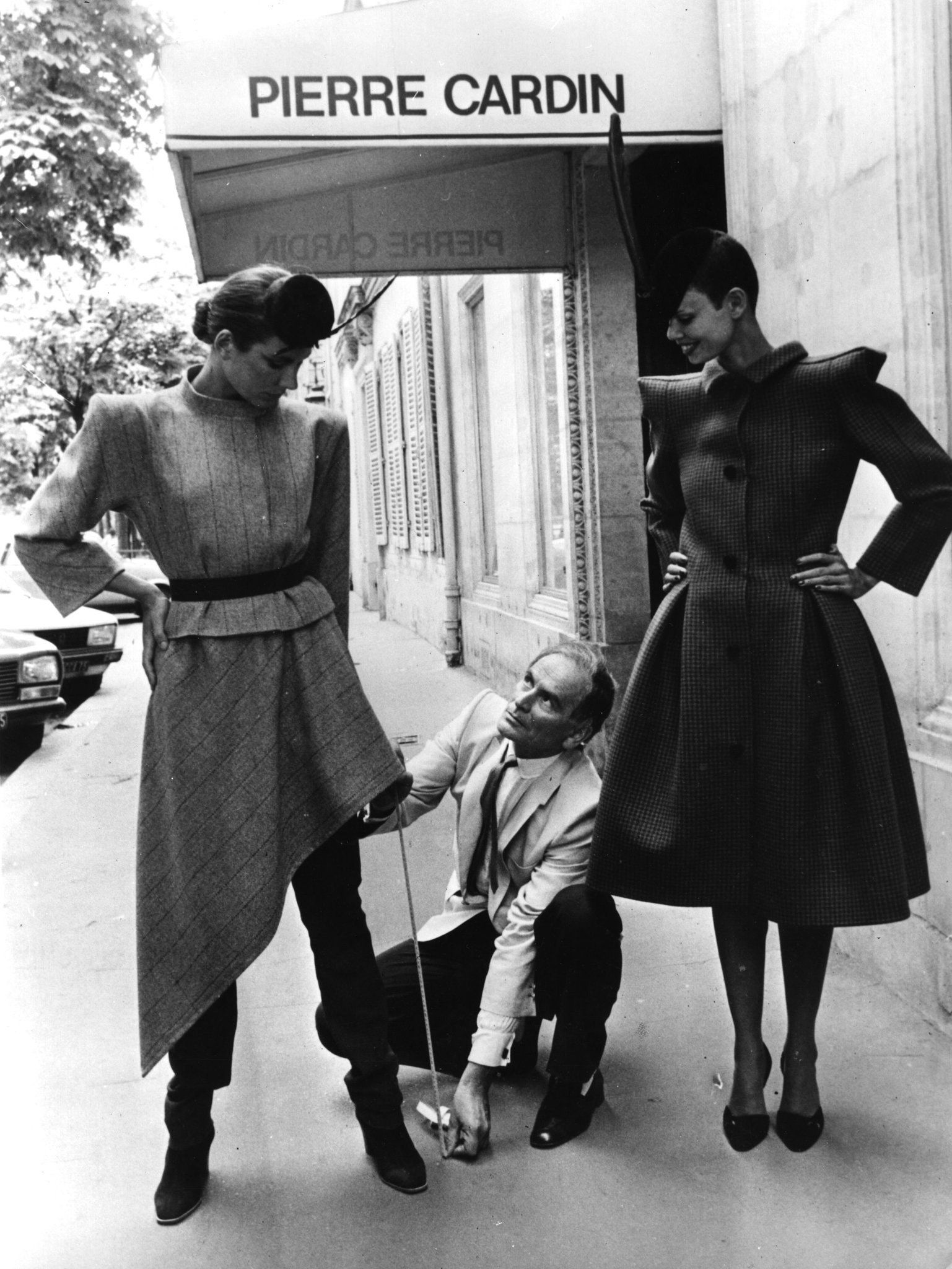 Pierre Cardin Paris'te - 1979