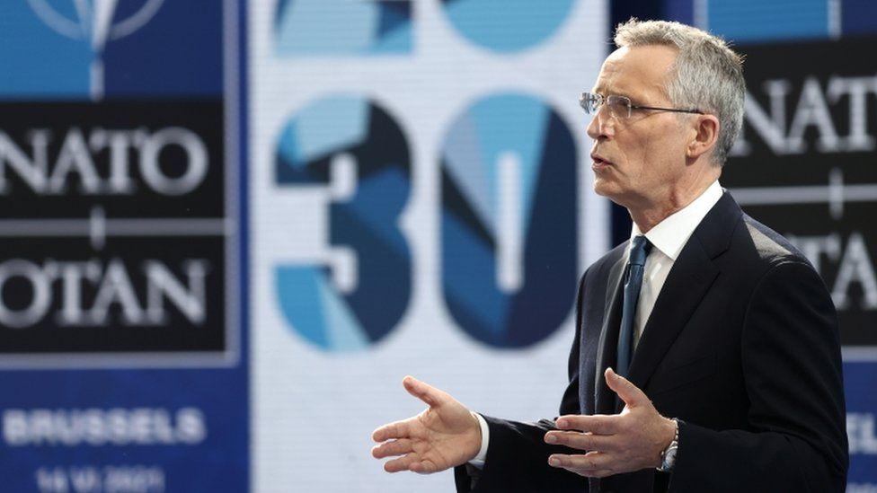 Fotoğraf: NATO Genel Sekreteri Jens Stoltenberg / Reuters