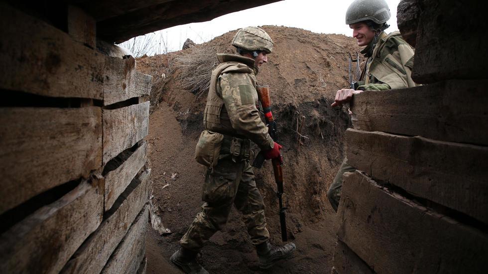 Ukrayna Doğu Sınırı - AFP