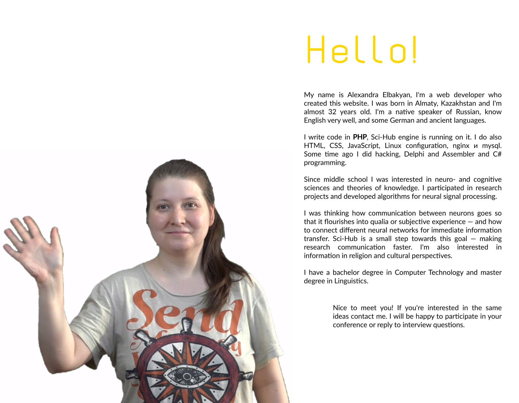 Sci-Hub ve Alexandra Elbakyan