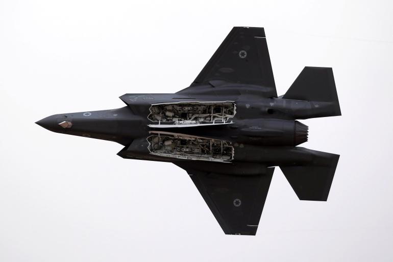 İsrail ordusuna ait bir F-35, Fotoğraf:Amir Cohen - Reuters