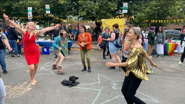 Celebrating #Pride at the Somerville Arts Council's Big Gay Dance Party