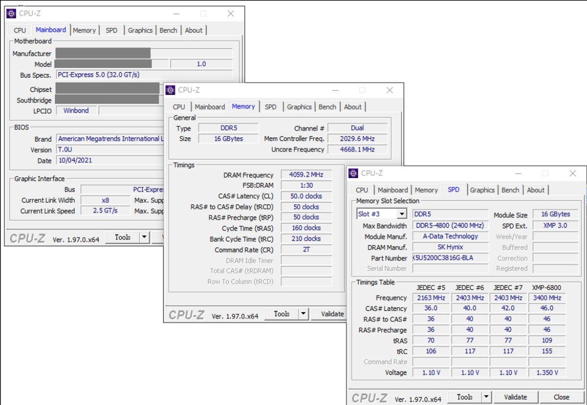 Adata DDR5 overklock