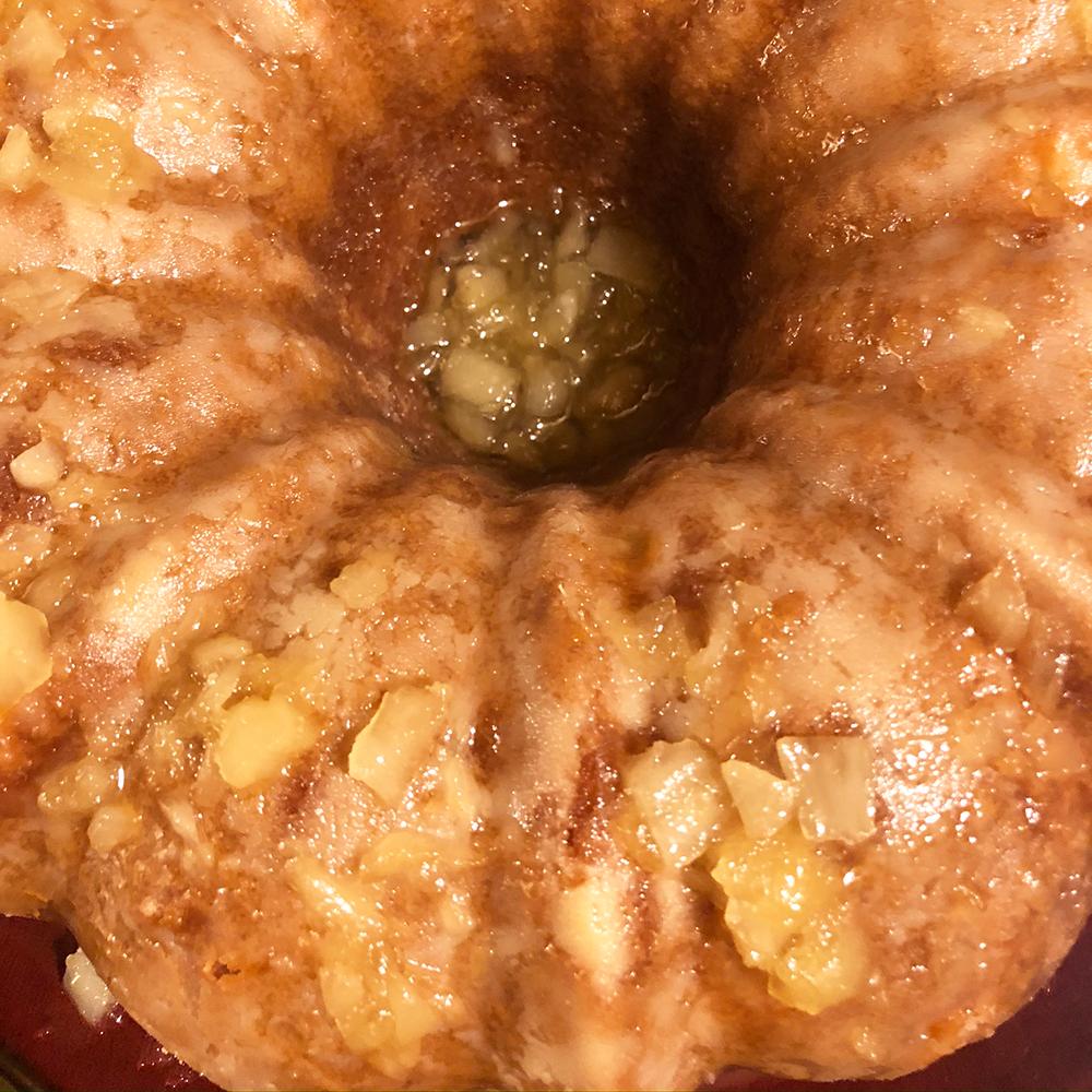 Mom's Favorite Pineapple Pound Cake