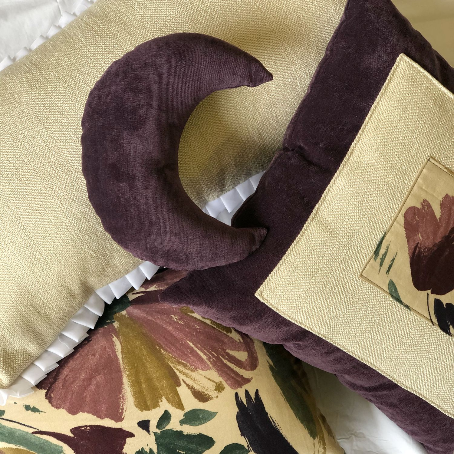 The Royal Floral Pillow Collection