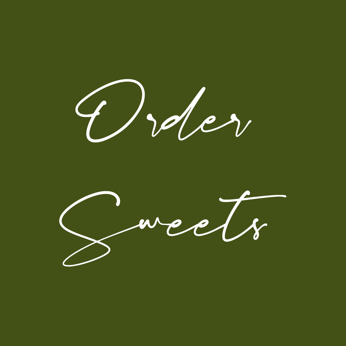 Order Local Sweets