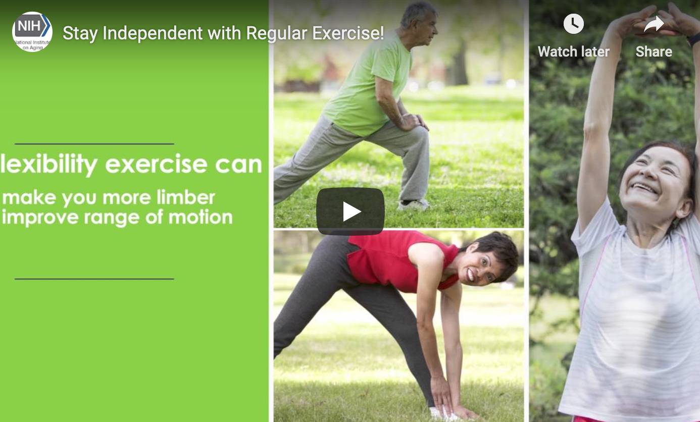 video clip benefits of exercise