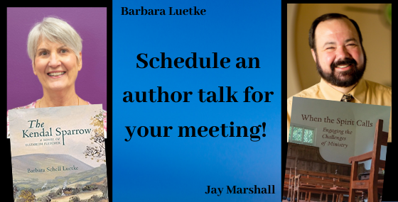 Authors Barbara Luetke and Jay Marshall