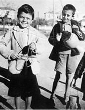 Greek children singing carols in the 1950's