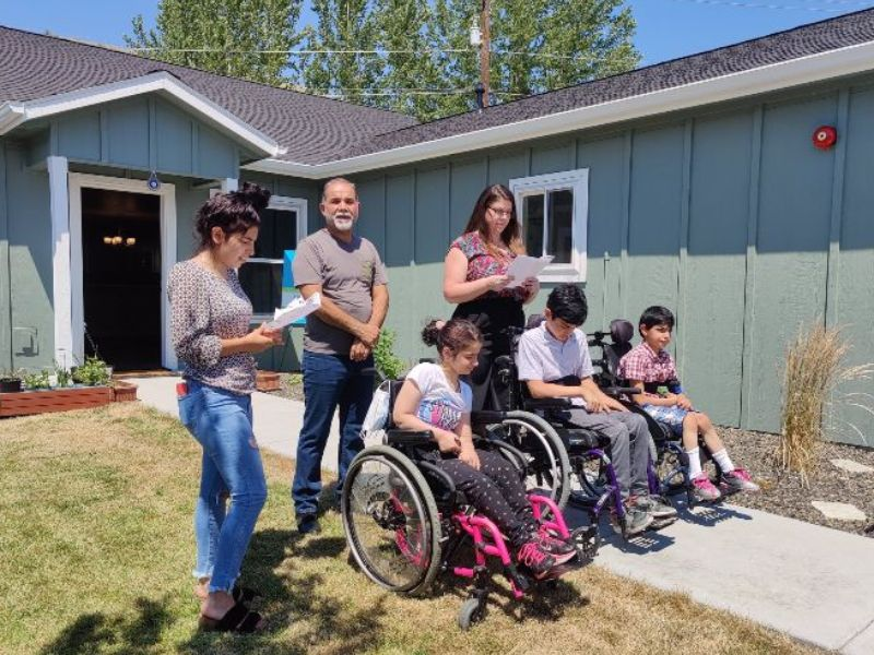 Boise Valley Habitat for Humanity (BVHfH) proudly celebrated its 87th Home Dedication