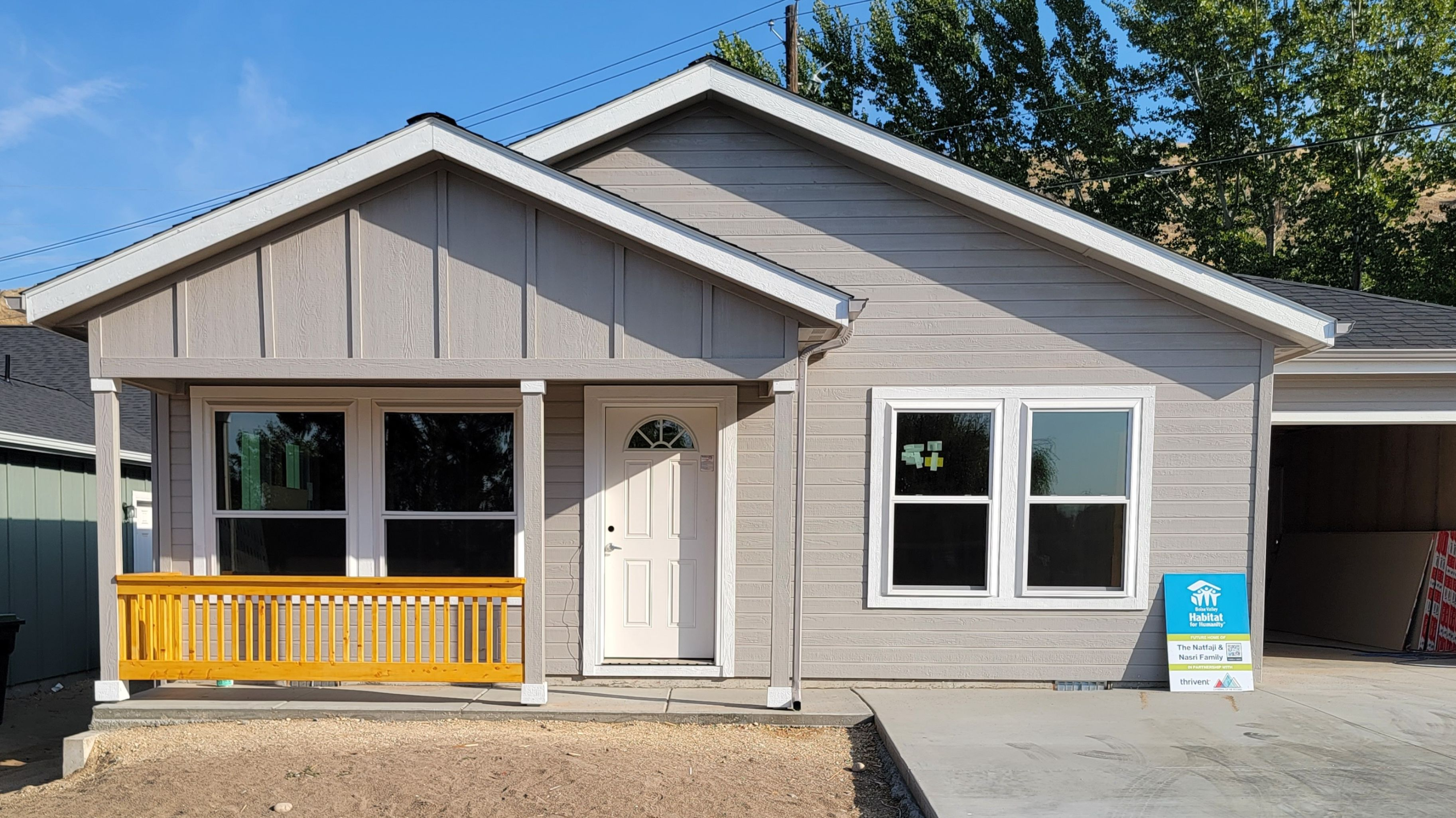 Work continues at Boise Valley Habitat for Humanity's third home-build on Gary Lane
