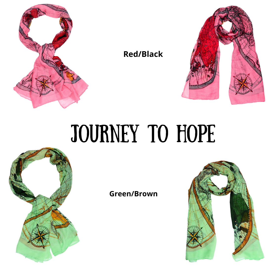 2 Scarves- Journey to Hope