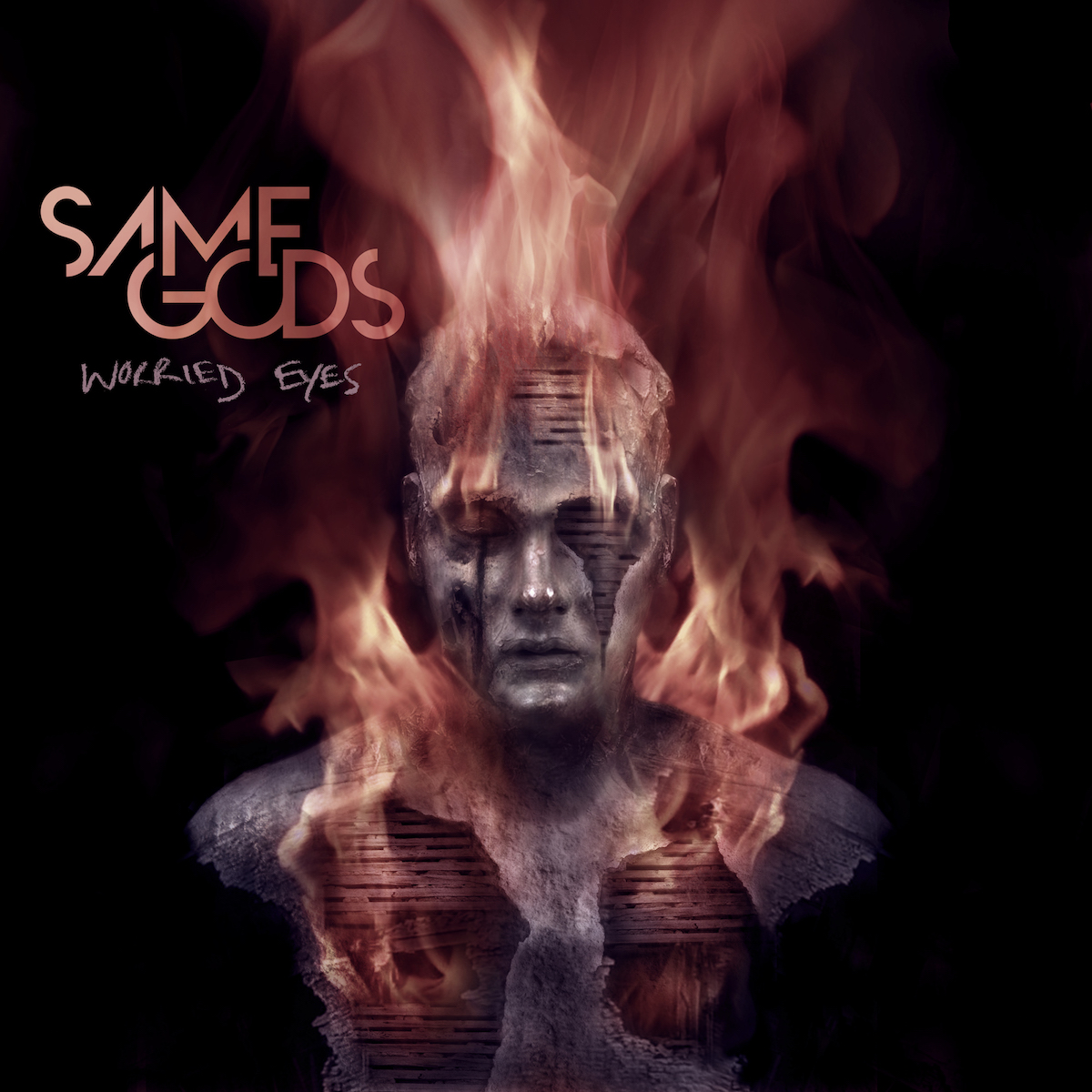 Same Gods 'Worried Eyes' cover
