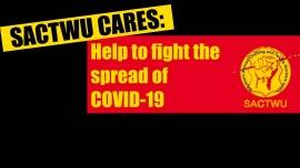 Профсоюз информирует о COVID-19, поскольку в ЮАР зафиксированы новые случаи