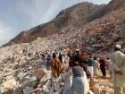Инцидент в мраморном карьере: В Пакистане продолжают массово погибать шахтёры