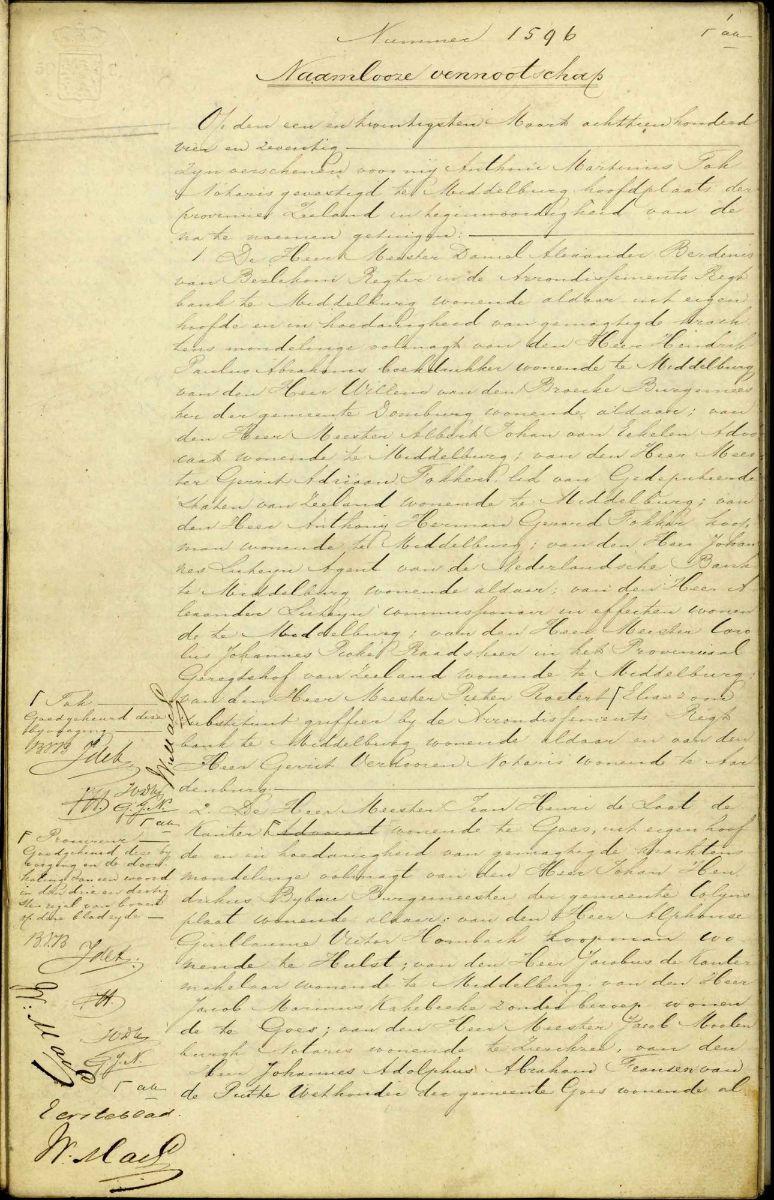 oud schrift