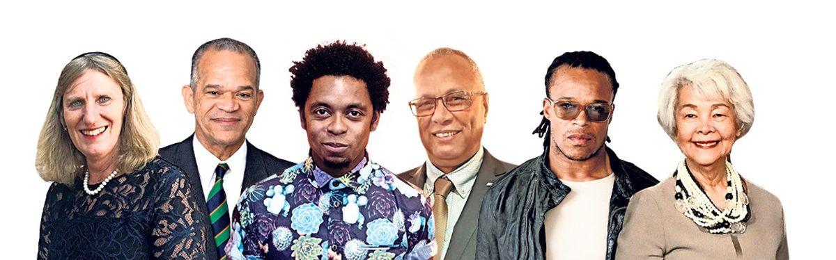 Leden van de Dialooggroep slavernijverleden.