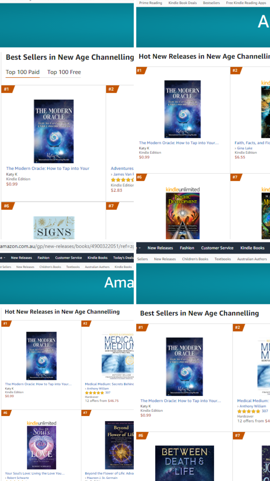 number 1 best seller on Amazon - The Modern Oracle book