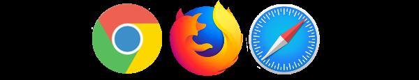 Browser symbols