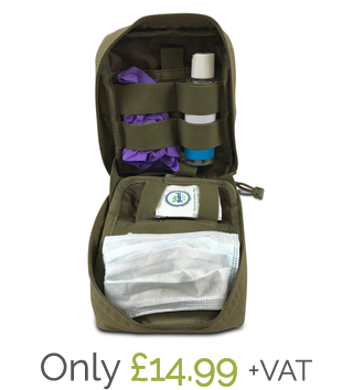 Kit with pouch, only £14.99 + VAT