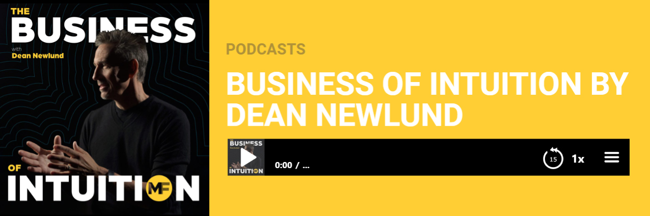 New Podcast of The Business of Intuition: