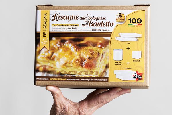 Lasagne nel Bauletto