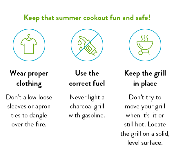 Keep that summer cookout fun and safe!