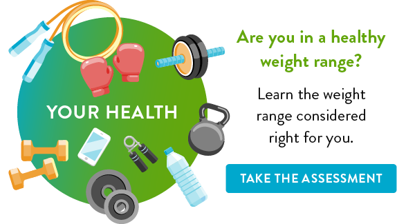 Are you in a healthy weight range?