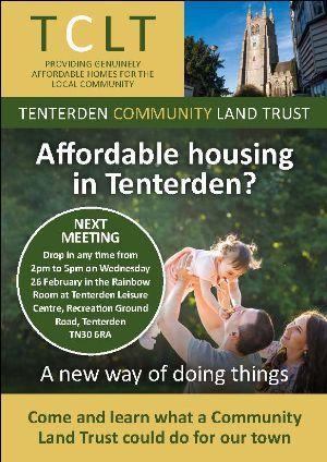 Affordable Housing, Tenterden Community Land Trust
