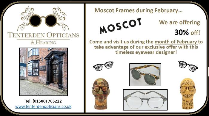 Tenterden Opticians, February Offer