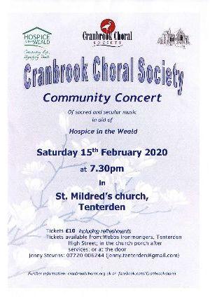 Cranbrook Choral Society