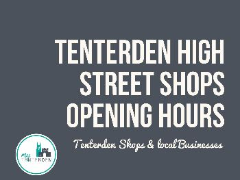 Opening Hours, High Street shops and local businesses