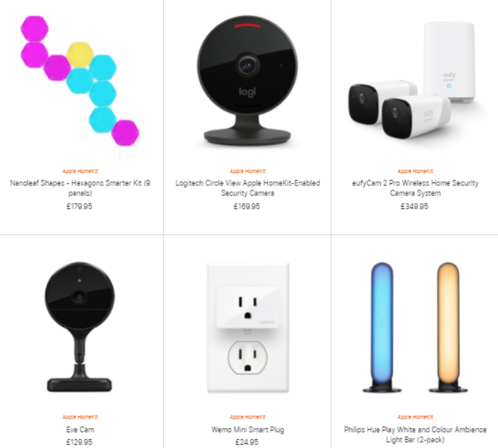 Smart devices for the home