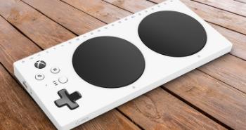 White gaming device