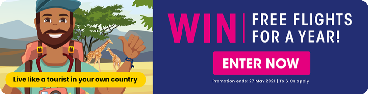 WIN* Free Flights For a Year - Enter Now!
