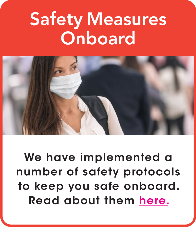 Our Safety Measure Onboard