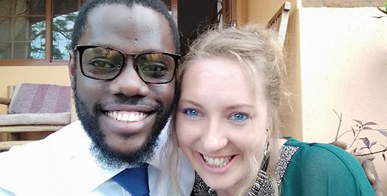 Rachael and Bernie Muluuta