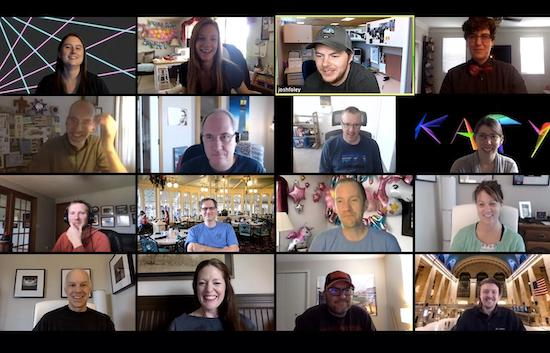 The Geeks' Website Celebration