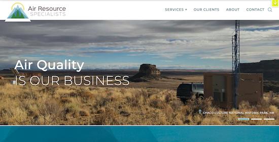 ARS homepage