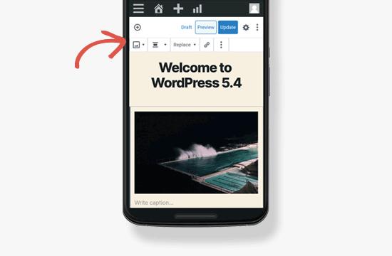 Welcome to WordPress 5.4
