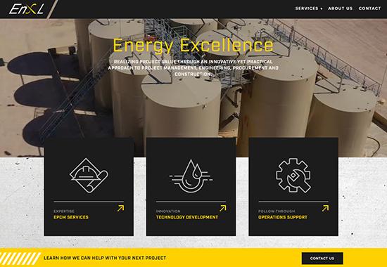 EnXL homepage