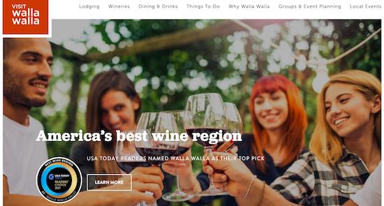 Visit Walla Walla's homepage