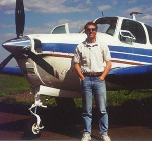 Ron & his Bonanza in 2002