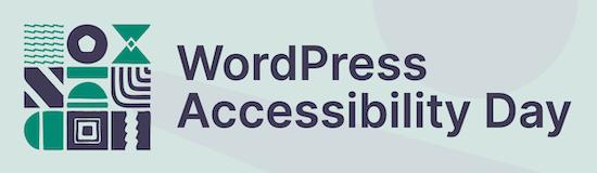 WordPress Accessibility Day logo