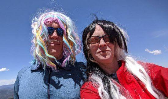 Jason & Carol on Signal Mountain