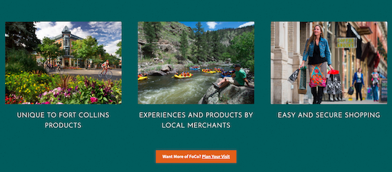 Fort Collins Marketplace offerings