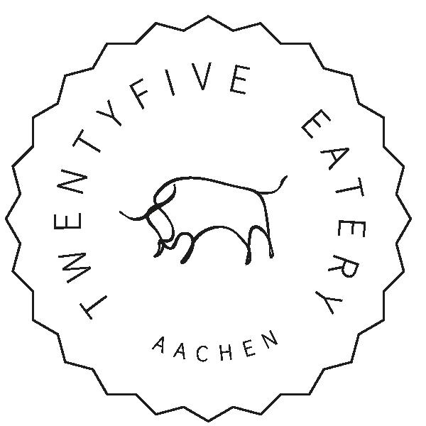 TWENTYFIVE Eatery Logo